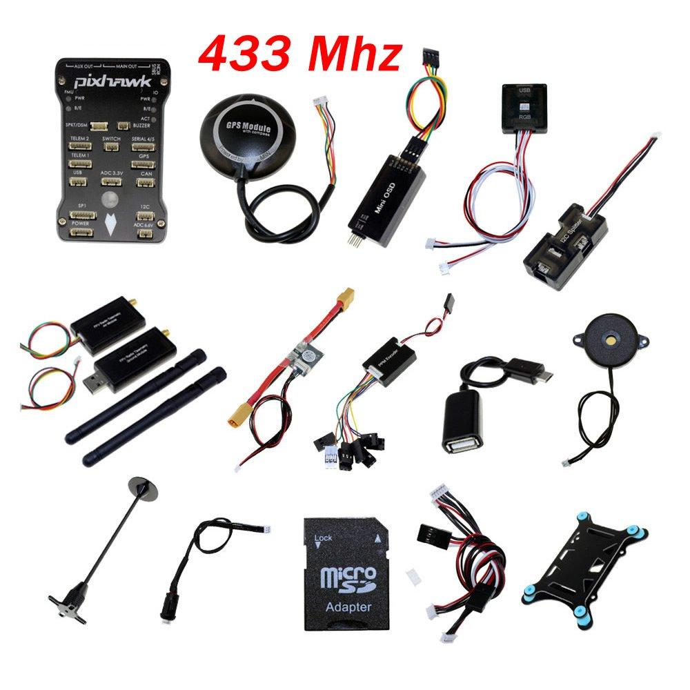 AntRC PX4 Pixhawk PX4 2.4.8フライトコントローラNEO-M8N AntRC B07D4FT4P2 GPSラジオテレメトリOSD 3DR 433Mhz B07D4FT4P2, SELECTSHOP ARCHISS:24dc5f1c --- itxassou.fr