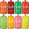 18 Count Bubly Sparkling Water Sampler Variety 12 Ounce Cans