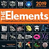 The Elements 2019 12 x 12 Inch Monthly Square Wall Calendar by Hachette, Chemistry Atoms Tabular Electron