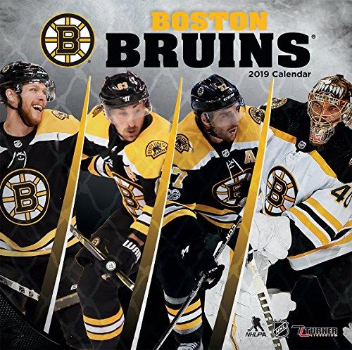 Turner 1 Sport Boston Bruins 2019 12X12 Team Wall Calendar Office Wall Calendar (19998011932)