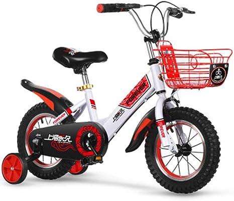 Ppy778 Bicicleta para niños 2-4-6-7-8-9 años Carro de bebé ...