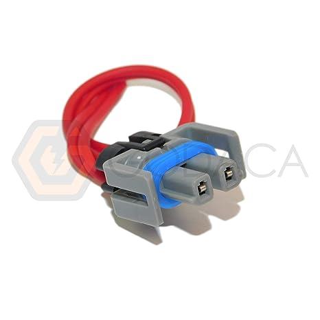Conector para a/c Compresor Embrague Gm Chevrolet LT1 LS1 Pigtail Reemplazar pt209 12101937