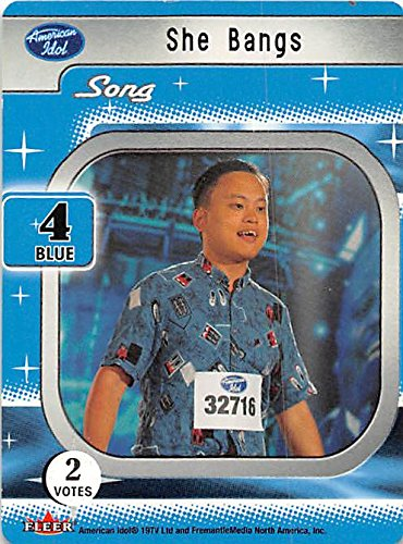 William Hung trading card American Idol 2004 #4 She Bangs by Autograph Warehouse