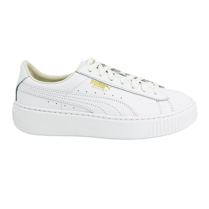Scarpe Donna Puma Platform Sneakers Vera Trendy In Bianco Basket l1FKJ3Tc