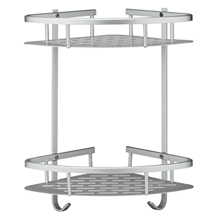Amazon.com: Deekec Bathroom Corner Shower Shelf Shower Storage ...