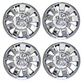 #9: TuningPros WSC3-721C17 4pcs Set Snap-On Type (Pop-On) 17-Inches Chrome Finish Hubcaps Wheel Cover