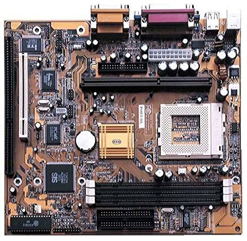 ECS P6SET-ML Socket 370 motherboard with 1 ISA slot. SiS 620/5595 chipset. On-board audio, video, LAN and modem. 3DIMM sockets. Micro-ATX form factor. ()