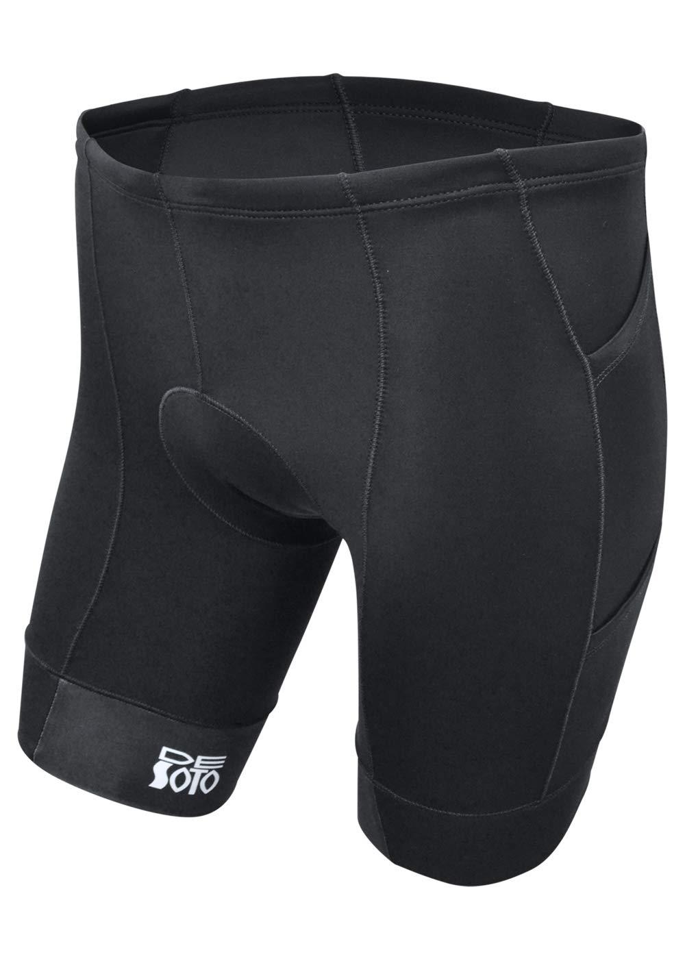 De Soto Mobius Tri Short 4-Pocket (Black, Medium)
