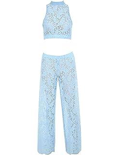 7d729c7dbe4 UONBOX Women s Spaghetti Straps V-Neck Lace Tassel Jumpsuits with Zipper