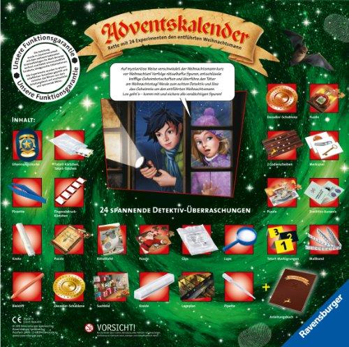 Calendario Avvento Ravensburger.Ravensburger 18896 Sciencex Calendario Dell Avvento