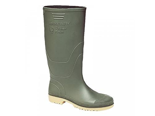 Dunlop - Stivali di gomma da uomo stile Wellington con gambale alto ... 88db41d06bd