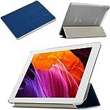AVIDET Ultra Slim Teclast X80 Pro Hülle Case Superleicht Ständer Smart Shell Cover Schutzhülle Etui Tasche für Teclast X80 Pro Tablet-PC (Blau)
