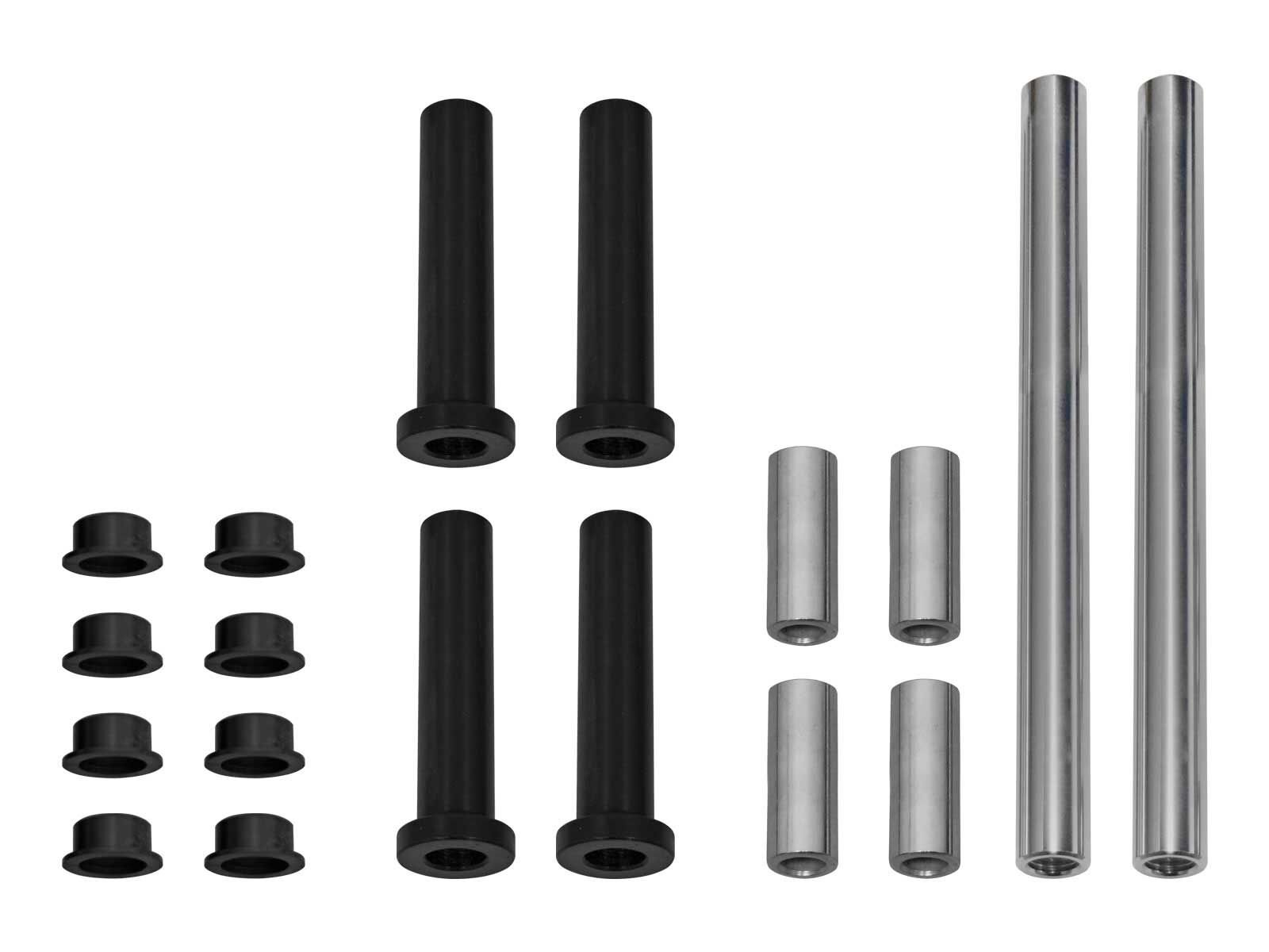 SuperATV HDPE A-arm/Control Arms Bushing Kit for Can-Am Commander 800/1000 / Max - Replaces Front Upper and Lower