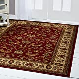 "Home Dynamix Royalty Elati 1'9""x7'2"" Area Rug in Red/Ivory"