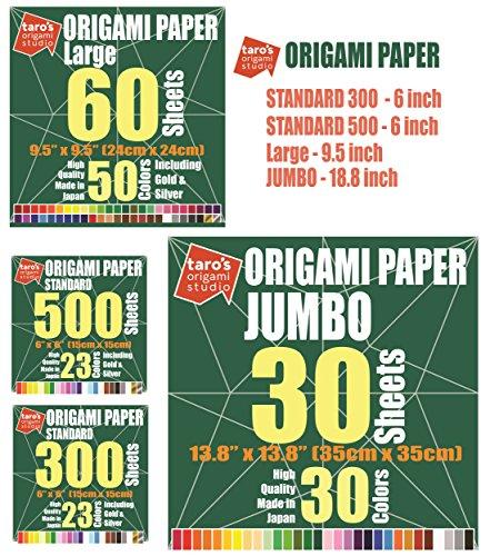 Taro's Origami Studio Premium Japanese Origami Paper