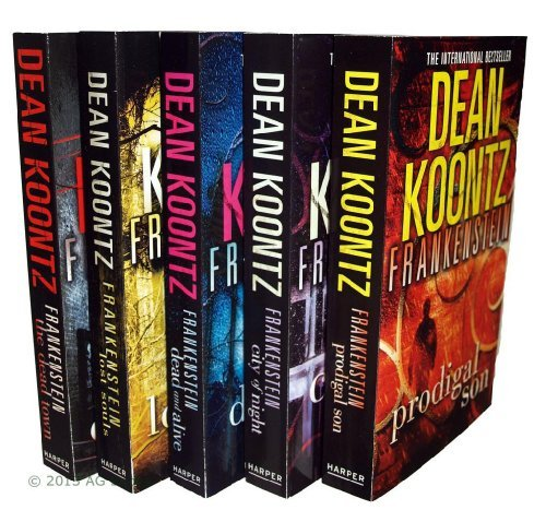 Dean Koontz Frankenstein Series - 5 books: Prodigal Son / City of Night / Dead And Alive / Lost Souls / The Dead Town rrp £39.95 ebook