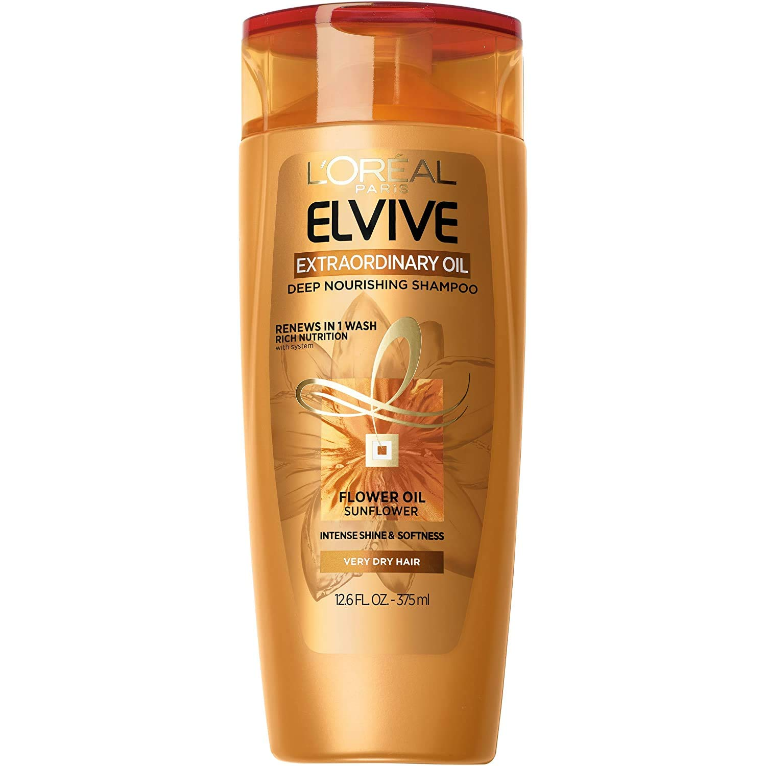 L'Oréal Paris Elvive Extraordinary Oil Deep Nourishing Shampoo, 12.6 fl. oz. (Packaging May Vary)