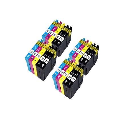 cking 4 Sets COMPATIBLES t2291 cartuchos de tinta compatible con ...