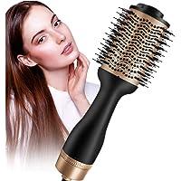 Hårtork varmluftsborste, 5-i-1-uppgraderad stylingborste Hair Dry med negativ Lonic för varmluftskam alla hårtyper