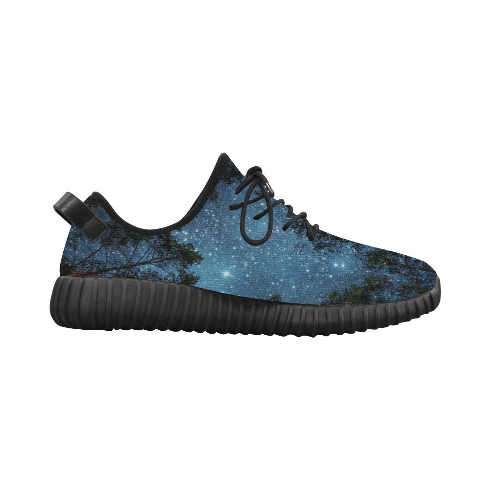D-Story Fantasy Tree Grus Mens Breathable Woven Running Shoes Boost Shoes Sneakers