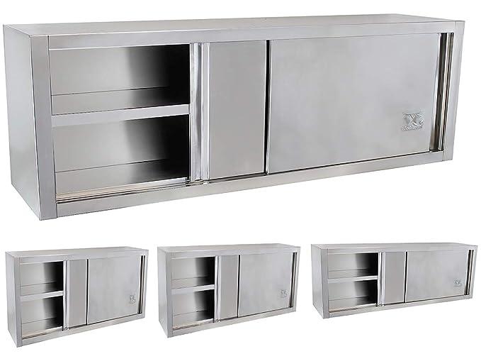 Amazon.de: Beeketal \'BWS140\' Gastro Küchen Wandhängeschrank aus ...