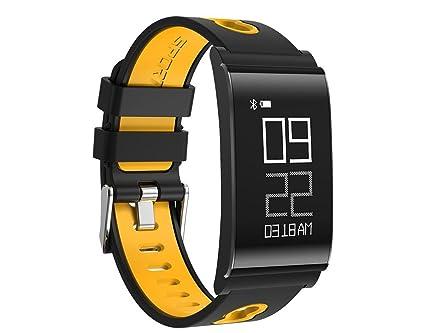 Fitness Monitores de actividad,24 horas pulsómetro,Smart be ...