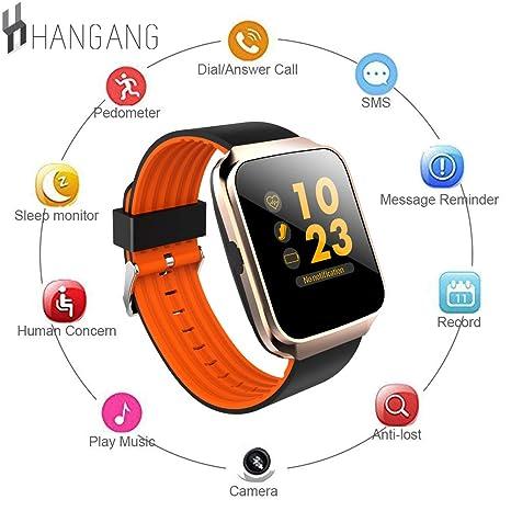 Hangang Bluetooth Smart reloj presión arterial Monitor ...