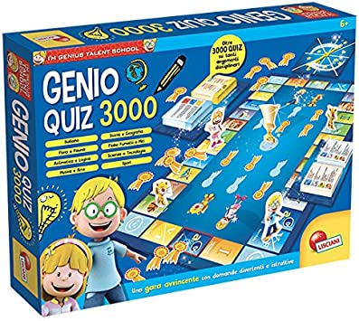 Lisciani Giochi 56460 Gioco I'm a Genius Super Quiz 5000
