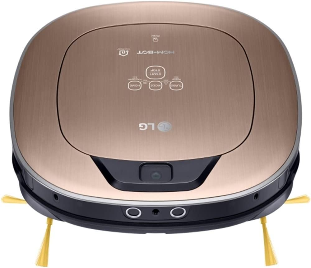 LG VR9627PG Aspiradora Robot, Dorado, 34 x 34 cm: Amazon.es: Hogar