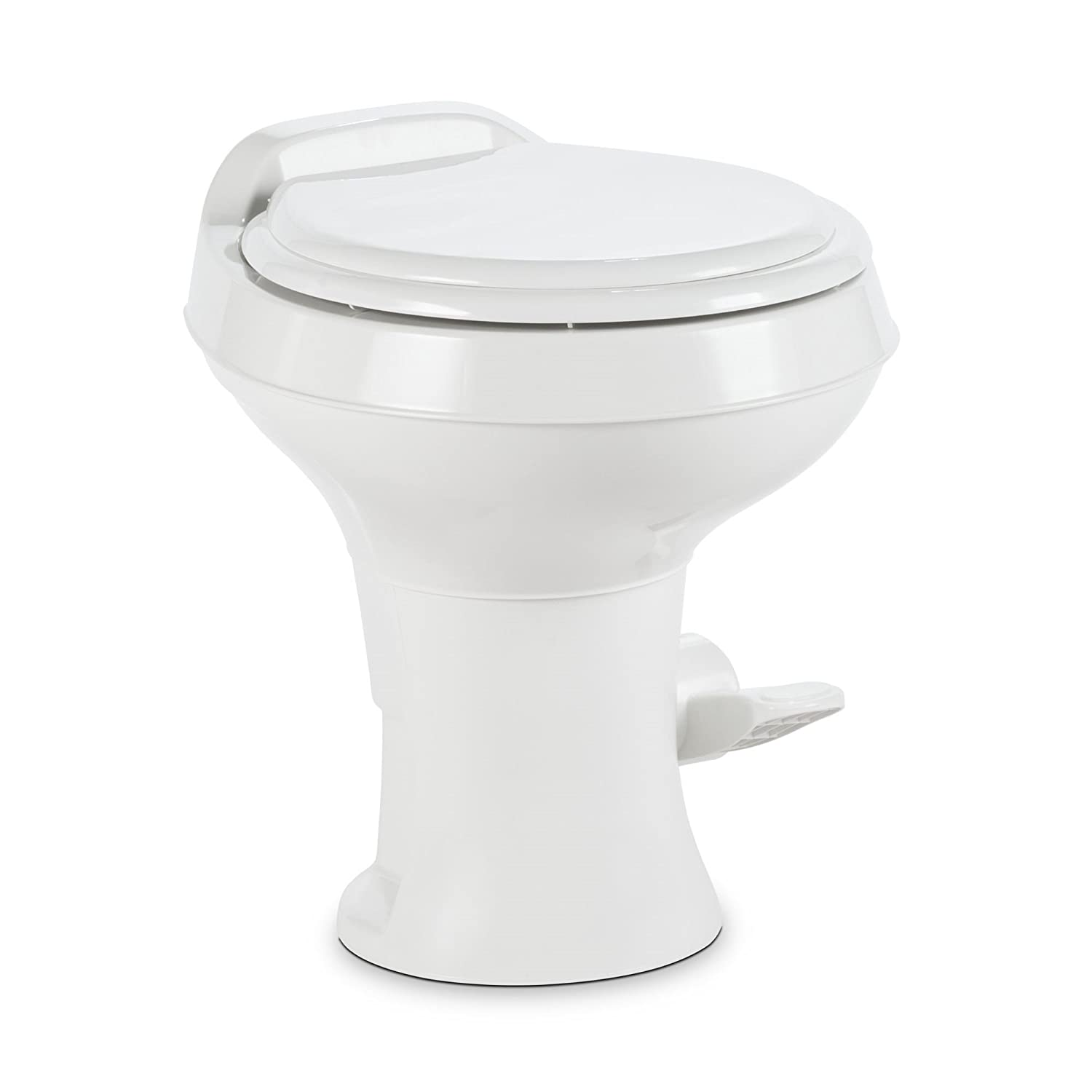 Dometic 302301671 300 Series Low Profile Toilet, White
