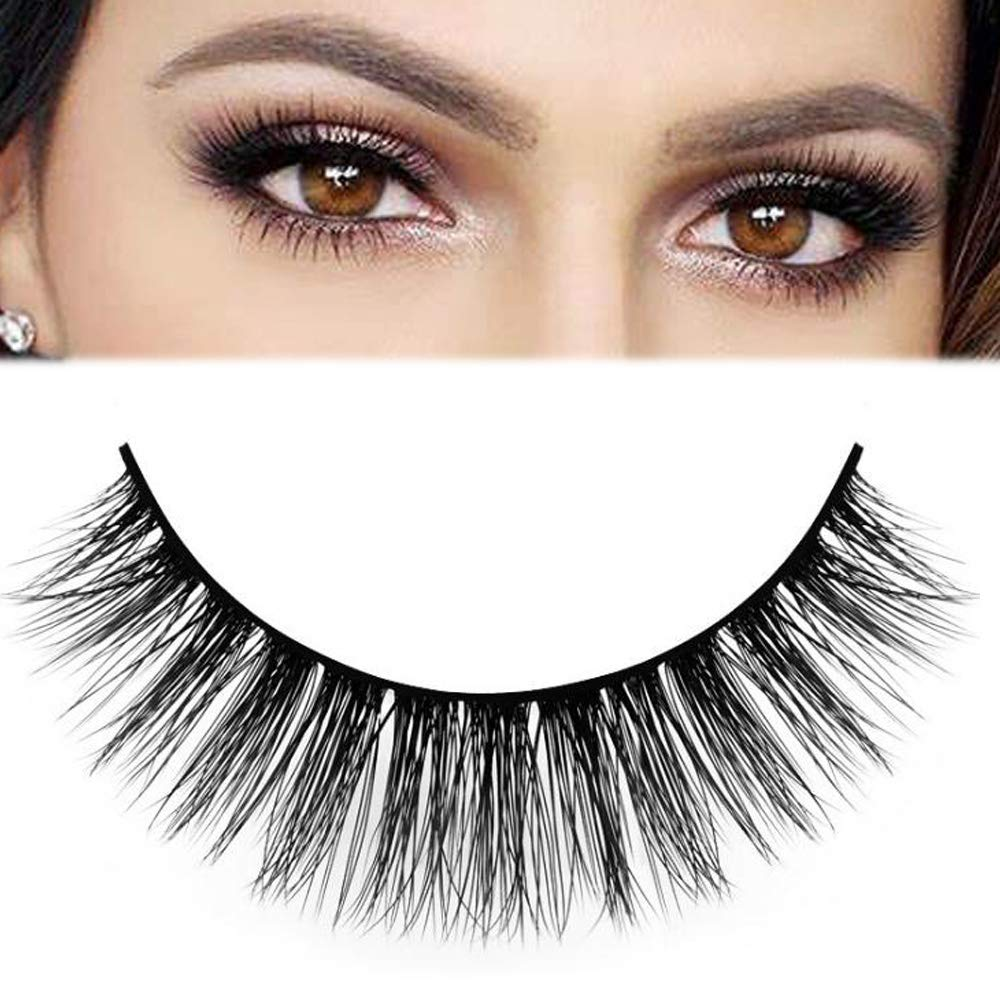 Best false eyelashes for Asian eyes - False eyelashes with glue