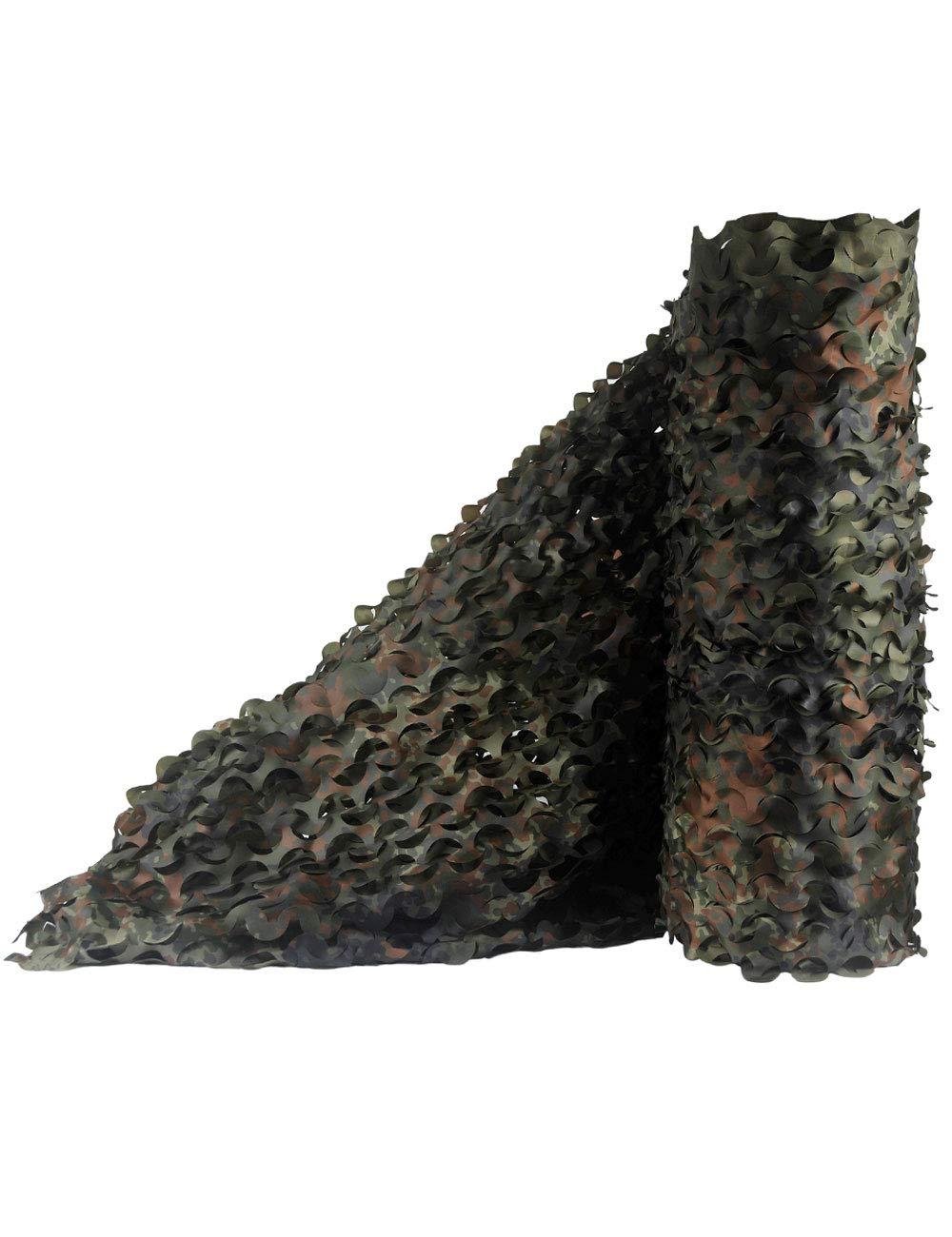 1.5M× 5M  GZW001 Filet de Camouflage de Prougeection Solaire, Filet de Camouflage boisland, 2 × 3m