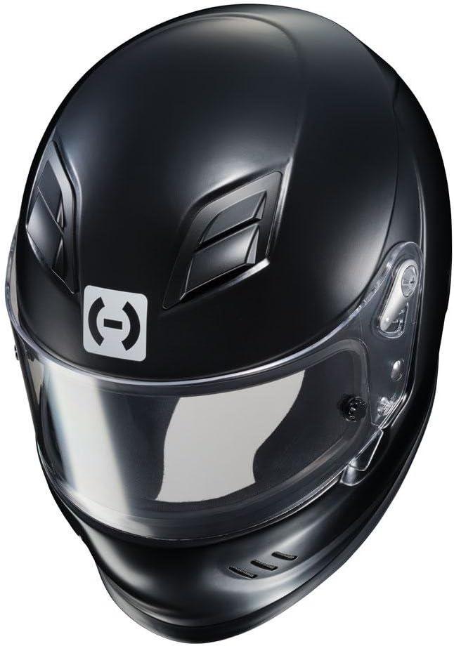 Medium HJC Helmets HJC-2BM15 Black AR-10 III SA2015 Racing Helmet Rubbertone
