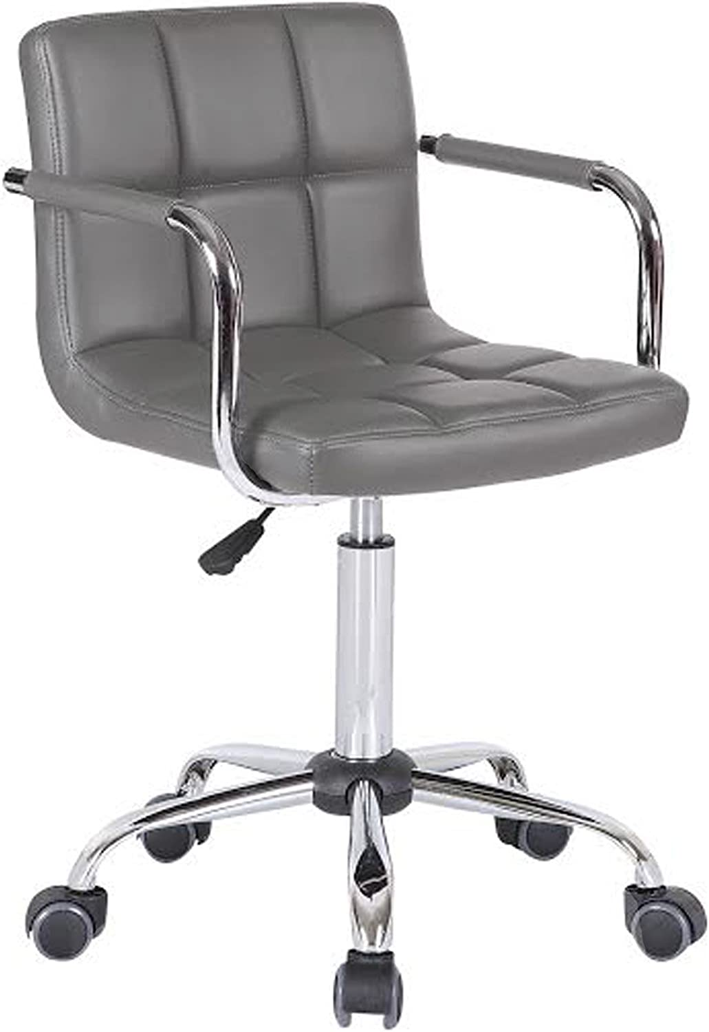 Decor It 2016 V2 Executive Home Office Chair With Wheels Grey Amazon Co Uk Kitchen Home