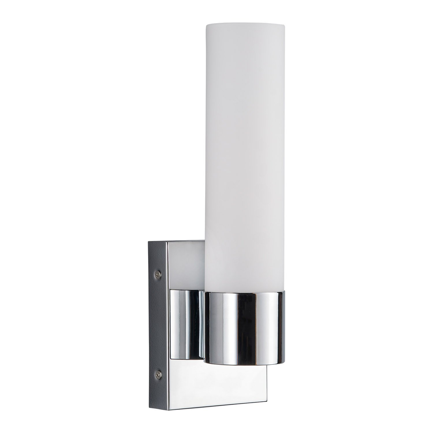 sconce matina light nickel single vanity brushed