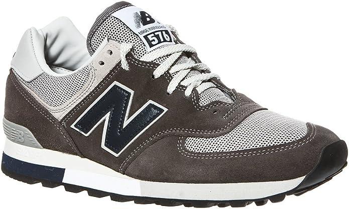 New Balance M 576 Sneakers Damen Herren Unisex Grau
