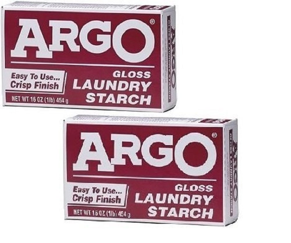 Argo Gloss Laundry Starch (2 Pack)