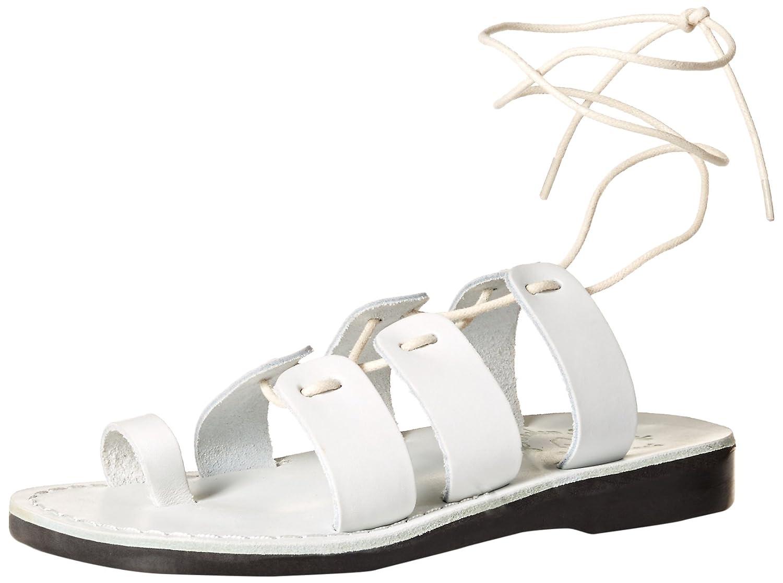 Jerusalem Sandals Women's Deborah Slide Sandal B075KZ62SY 39 Medium EU (8-8.5 US)|White