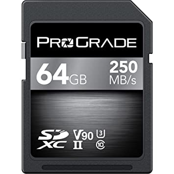 Amazon.com: ProGrade Digital 64 GB UHS-II tarjeta de memoria ...