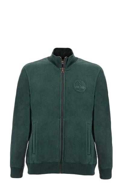 Timberland Sudadera Full Zip Verde M