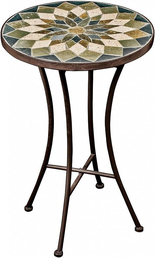 Petite table mosaïque d\'extérieur - Style vintage Green ...