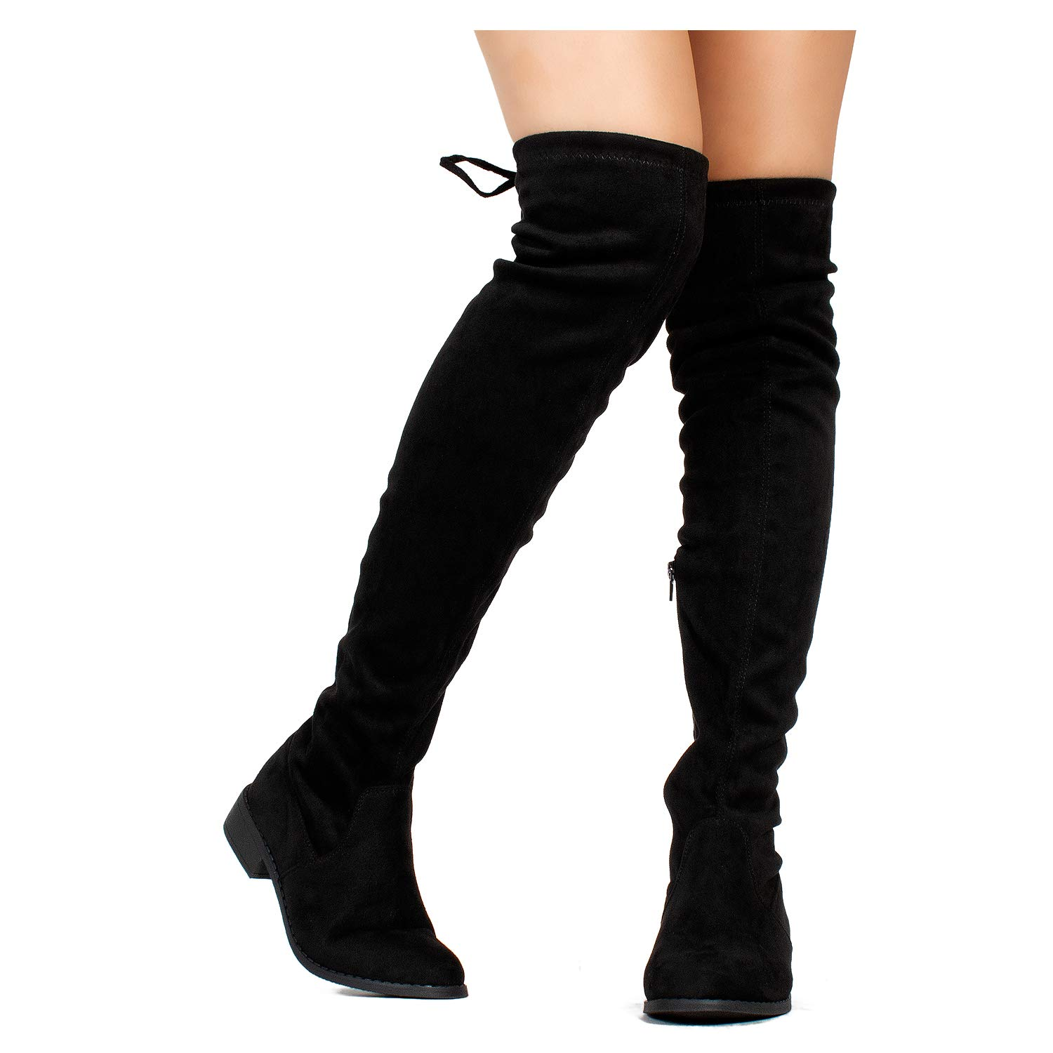 53dd724afdd RF ROOM OF FASHION Women s Stretchy Over The Knee Riding Boots product image