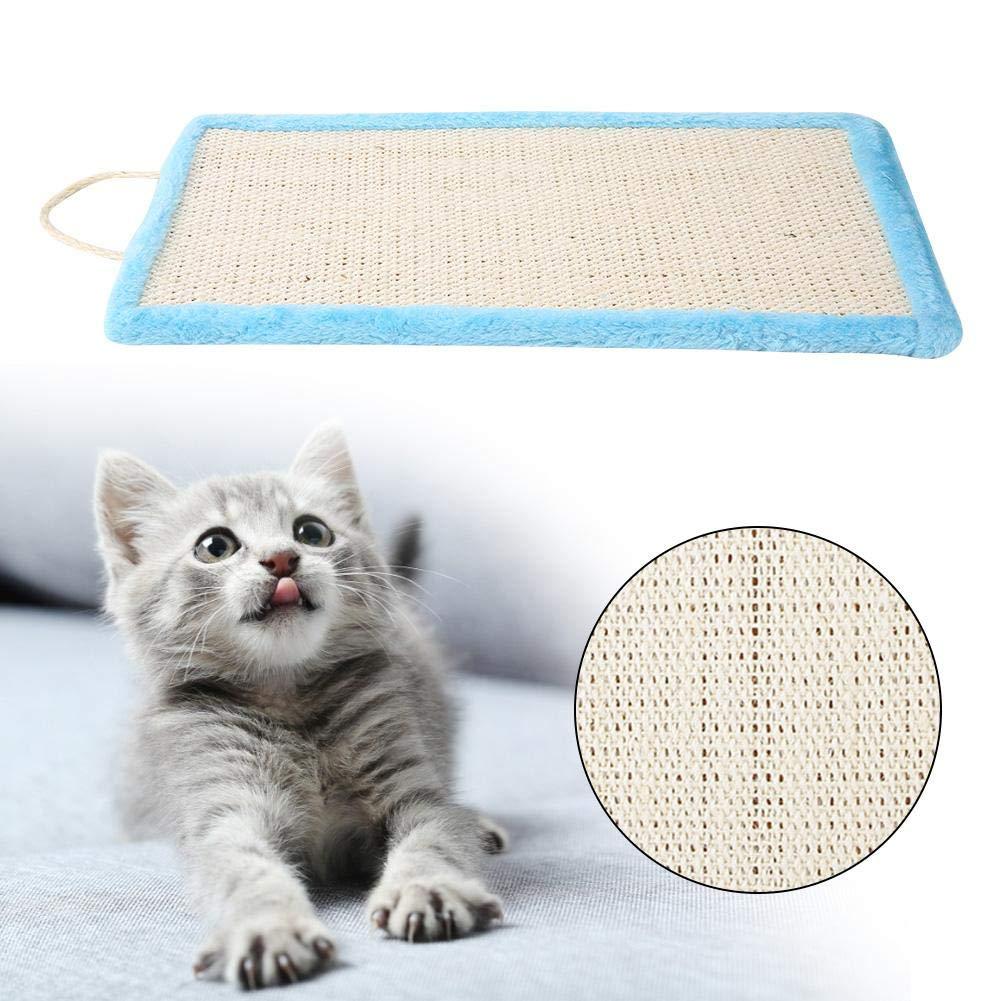 Rettangolo Scrittoio Sisal Sisal Scratching Hanging Pad per mobili Cats Kitten Protecting HEEPDD Scratching Mat Cat Leopardato