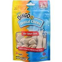 24-Packs Dingo Mini Dental Dog Chews 9.6 oz