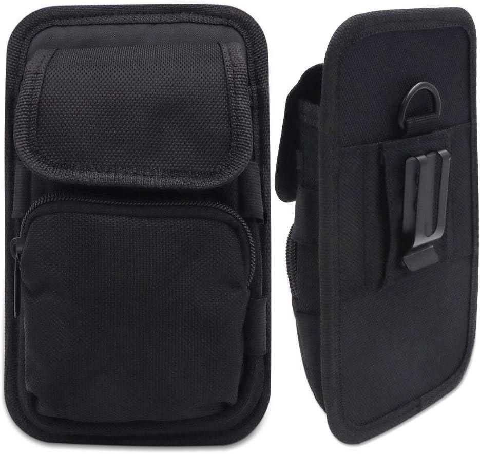 Beeasy Funda para Móvil con Clip para Cinturón,Bolsa Cinturon Phone Holster Compatible con iPhone/Xiaomi Redmi/Samsung Galaxy/Huawei,Negro: Amazon.es: Electrónica