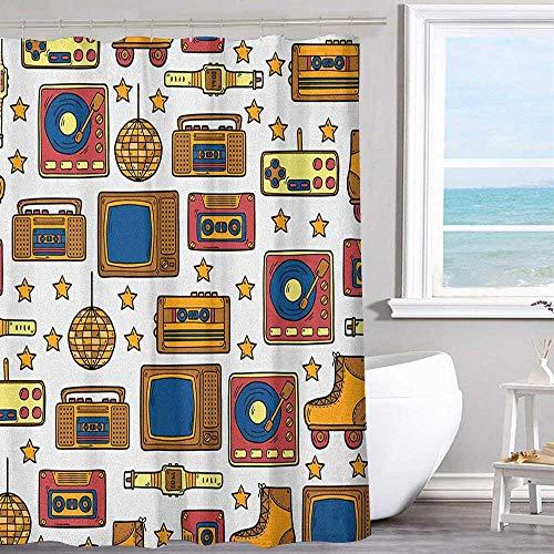 Bathroom shower curtain 36