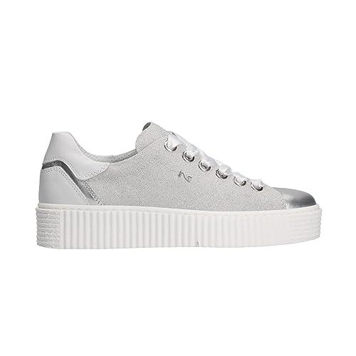 NERO GIARDINI Sneakers scarpe donna grigio 5282 mod. P805282D