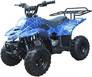 X-PRO 110cc ATV Quads Youth ATV Quad ATVs 4 Wheeler