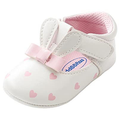 Witspace Newborn Baby Girls Cute Cartoon Shoes Toddler Kids First Walkers Shoes: Clothing