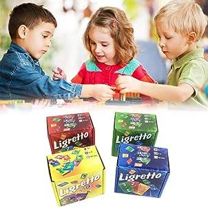 Mollylover - Puzle de 150 Cartas para niños, Juegos de Mesa, Juego para Adultos y niños Que aprenden Cartas de Juegos cooperativos para enseñar a los niños Nuevas Habilidades: Amazon.es: Hogar